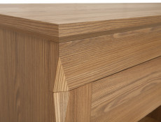 Traditional Small Cabinet Sideboard in Oak finish - Bergen