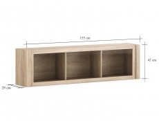 Venom Mix - Wall Mounted Glass Fonted Cabinet