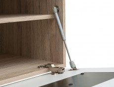 Wall Cabinet White High Gloss - Byron (SFW1K/4/12)