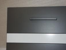 Modern Free Standing Kitchen Cabinet 500 Base Cupboard Unit 50cm Left Hand Grey/White Gloss - Junona