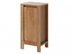 Classic Small Freestanding Bathroom Cabinet Storage Unit 40cm Oak - Classic Oak