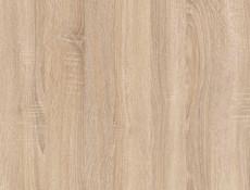 Modern Free Standing Kitchen Cabinet 500 Cupboard Base Unit 50cm Right Wenge/Sonoma Oak - Junona (K22-D1D/50/82_P-WE/WE/DSO/DSO-KPL01)