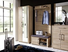 Single Mirror Door Wardrobe - Go