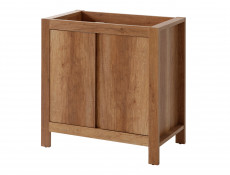 Classic Free Standing Vanity Bathroom Unit Cabinet & Sink 80cm 800mm Oak - Classic Oak