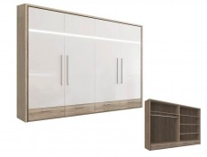 Mercur - Four Door Wardrobe (SZF4D4D/B)