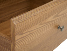 Traditional Small Cabinet Sideboard in Oak finish - Bergen (KOM2D2S)