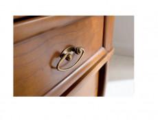 Traditional Two Door Wardrobe Cherry Wood Veneer - Orland (SZF2D1S/90)