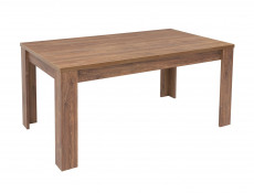 Modern Dining Room Rectangular Extending Dining Table 200cm Oak - Gent (S225-STO/7/16-DAST-KPL02)