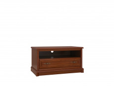 TV Stand Cabinet Classic Style Traditional Living Room Furniture Chestnut Finish - Kent
