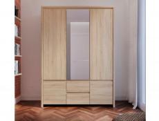 Three Door Wardrobe - Kaspian