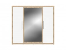 Belinda - Four Door Wardrobe (SZF4D)