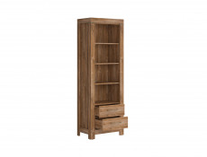 Bookcase Shelf Cabinet With Drawers - Gent (REG2S/20/7)