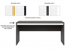Desk 160cm - Graphic