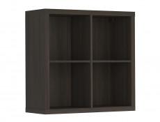 Cube Box Wall Shelf Cabinet 4 Compartments Wenge, White or Sonoma Oak Finish- Nepo