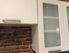 White/Light Grey Kitchen Extractor Housing Wall Cabinet 60cm Unit - Paula (STO-PAULA-W60_OKGR-GR/WHITE-KP01)