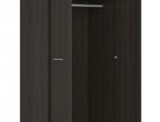 Modern Two Door Double Wardrobe Wenge, White or Sonoma Oak Finish- Nepo