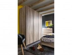 Anticca - Three Door Wardrobe (SZF3D)
