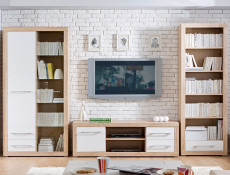 Bigi - Bookcase Shelf Cabinet With Drawer