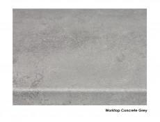 Modern Free Standing Kitchen Cabinet 600 Oven Housing Unit 60cm Wolfram Grey - Junona