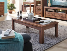 Modern Living Room Rectangular Coffee Table 130cm Oak - Gent