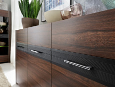 Wide Sideboard with Drawers - Alhambra (S306-KOM3D-AHB-KPL01)