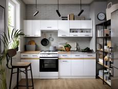 Kitchen Worktop 800 mm 80cm Golden Oak laminate finish - Junona (K24-D2D/80/82-DCRZ-2-KOR01)