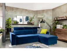Modern Living Room Wall Mounted Floating Panel Shelf LED Light 200cm Oak- Gent