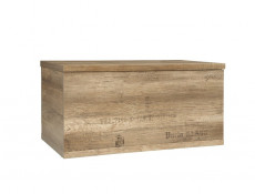 Urban Trunk Coffee Table Kid Toy Storage Chest Seat Oak 93cm - Malcolm (S325-KUF/90-DAMO/DAMON-KPL01)