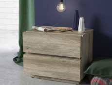 Bedside Cabinet Side Table - Anticca