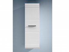 Wall Cabinet White Gloss or Oak - Fever (SFW1D/12/4)
