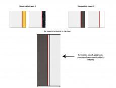 Two Door Cabinet - Graphic (REG2D/86)