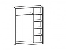 Libera - Three Door Wardrobe