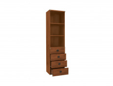 Bookcase Shelf Cabinet With Drawers - Indiana (JREG4SO/50)