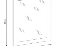 Classic Vanity Bathroom Cabinets Set Freestanding 60cm Oak - Classic Oak