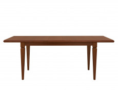 Extendable Dining Room Table Classic Style Traditional Furniture Chestnut Finish - Kent