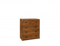 Children`s Room Bedroom Furniture Set in Oak or White Pine finish - Indiana (INDIANA KIDS SET)