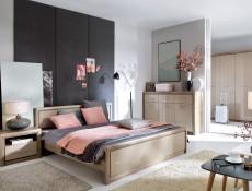 King Size Bed Frame - Koen 2 (S337-LOZ/160-DAMO/PIP-KPL01)