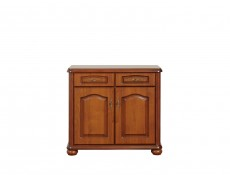 Large Chest of Drawers in Cherry Wooden Effect - Natalia