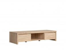 Modern Wide TV Stand Cabinet Sonoma Oak - Kaspian