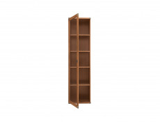 Indiana - Tall Glass-Fronted Display Cabinet (JWIT1D)