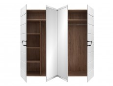 Four Door Wardrobe - Byron