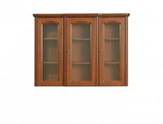 Natalia - Glass-Fronted Dresser Display Cabinet Top Unit (NAD150)