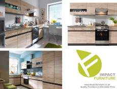 Kitchen Worktop 600 mm 60cm Sonoma Oak laminate finish - Junona