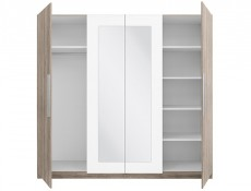 Four Door Wardrobe - Martina (SZF4D)