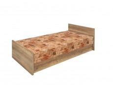 Malcolm - Single Ottoman Storage Bed with Mattress (LOZ/90)
