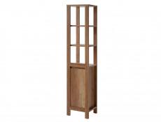 Classic Vanity Bathroom Cabinets Set Freestanding 60cm Oak - Classic Oak (CLASSIC_820+CFP-9060_DP+800_SET_OAK)