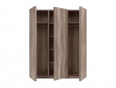 Three Door Wardrobe - Anticca (S317-SZF3D-DAMO-KPL01)