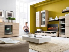 Voucher - Short TV Cabinet with glass front