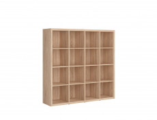 Wide Bookcase Shelf Cabinet - Nepo