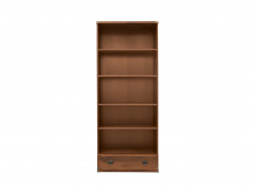Bookcase Shelf Cabinet With Drawer - Indiana (JREG1SO/80)